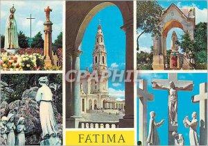 Postcard Modern Fatima Portugal