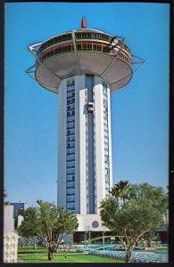 31820) Nevada LAS VEGAS Landmark Hotel - Pool - Paradise Road - Chrome
