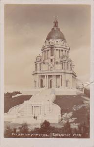 RP: The Ashton Memorial , Lancaster Park , England , PU-1908