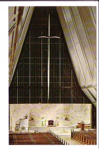 Protestant Chapel, US Air Force Academy, Colorado Springs, Colorado, Interior