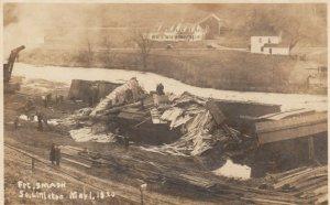 RP: SOUTH LITTLETON , Colorado , 1920 ; Railroad Train Wreck