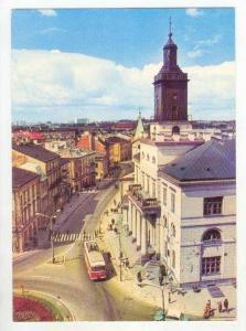 LUBLIN , Poland, 50-60s   Ulica Krakowskie Przedmiescie