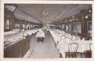 New York Albany Main Dining Room Interior Keeler's State Street Restaurant