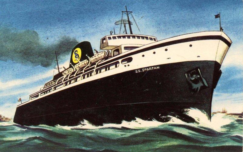 Chesapeake & Ohio Railway Line - SS Spartan
