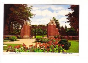 Jackson Park Gate, Windsor, Ontario,