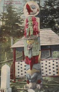 Alaska Ketchikan Indian Totem Poles