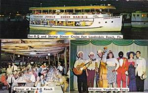 Florida Fort Lauderdale Passenger All Steel Jungle Queen II