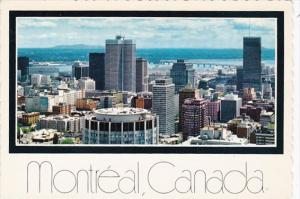 Canada Quebec Montreal View rom Mount Royal Lookout
