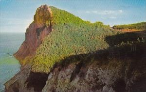 Canada Peak O Dawn Near Perce Quebec 1962