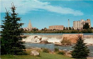 ID, Idaho Falls, Temple Square,  L.D.S. Temple, Snake River, Curteichp