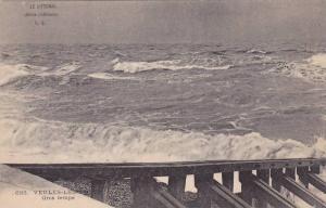 Gros Temps, Veules-Les-Roses (Seine Maritime), France, 1900-1910s