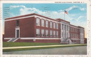 Sanford High School, Sanford, North Carolina 1935
