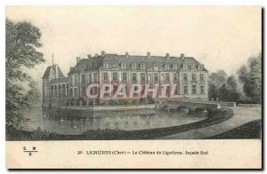 Dear Old Postcard Lignieres Lignieres Chateau frontage South