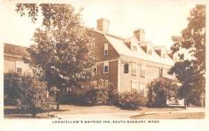 Longfellow's Wayside Inn in South Sudbury, MA