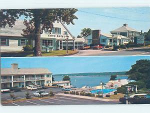 Pre-1980 MOTEL SCENE Cape Cod - Orleans Massachusetts MA AD9393