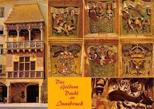 Das Goldene Dachl zu Innsbruck, Golden Roof Sculptures