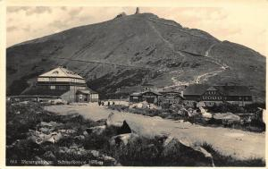 Riesengebirge Schneekoppe Hotel Pension Postcard