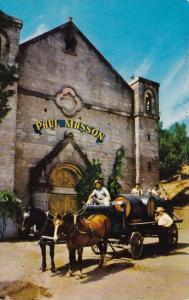 California Saratoga Paul Masson Vineyards Since 1852
