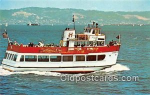 MV Harbor King San Francisco Bay Cruise Boats Ship Unused