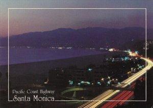 California Santa Monica Pacific Coast Highway