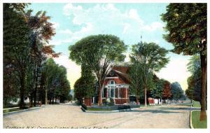 17872  NY  Cortland    Corner Clinton Ave  and Elm Street