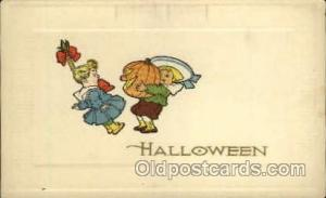 Halloween Postcard Postcards Unused
