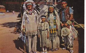 Chief Running Horse and His Family, ALVA, Oklahoma, 40-60's
