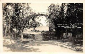 LPM52 Houghton Lake Highland Grove   Michigan RPPC Postcard