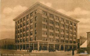 C-1910 Idaho Building Boise Idaho autos Mitchell postcard 6387