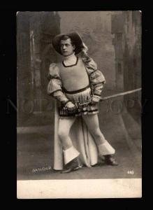 013537 DALSKY Russia DRAMA Theatre Actor FENCING vintage PHOTO