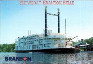 Branson Missouri Showboat Branson Belle Postcard