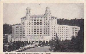 Arkansas Hot Springs National Park New Arlington Hotel 1940