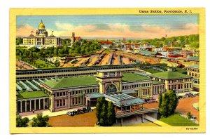 RI - Providence. Union Station