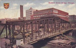 Madison Street Bridge, Chicago, Illinois, PU_1910