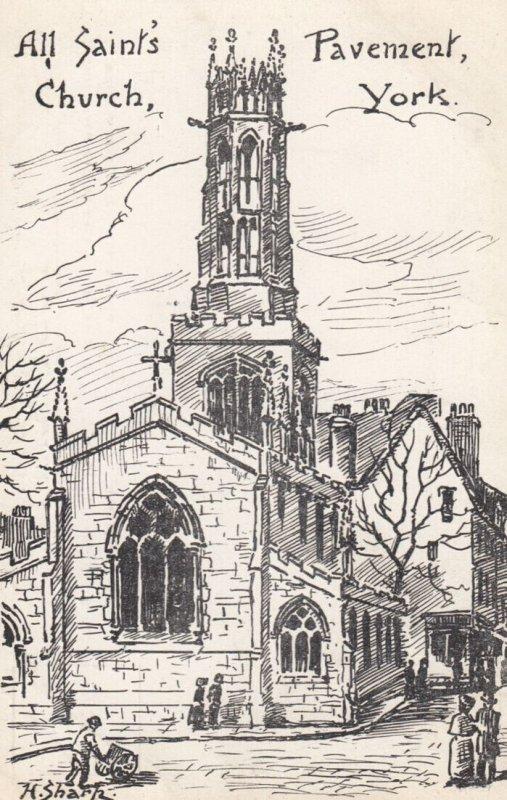 All Saints CHURCH , York , 00-10s ; Exterior