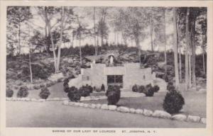 New York St Josephs Shrine Of Our Lady Of Lourdes
