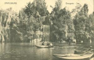 France Strassburg. Orangerie See CPA early 1900s unused P...