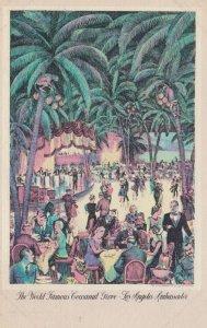 LOS ANGELES, California, 1947; World Famous Cocoanut Grove, Los Angeles Ambas...