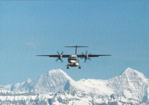 swisswings airlines Dornier 328-110 Airplane , 80-90s