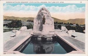 Utah Salt Lake City Mormon Battalion Monument State Capitol Grounds