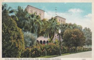 SACRAMENTO , 1933 ; Hotel Senator