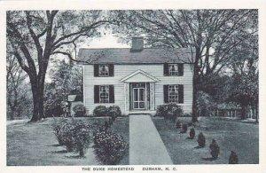 North Carolina Durham The Duke Homestead Albertype