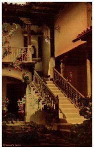 Guatamala Chichicastenango , Mayan Inn Annex patio
