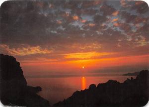 France Panorama de la Corse Les Calanche de Piana, Coucher de soleil