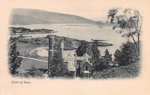 Kyles of Bute, Scotland, Great Britain, Early Postcard, Unused