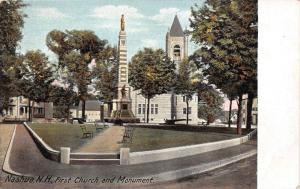 New Hampshire  First Church and Monument
