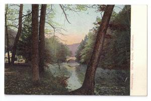 Valley Green Wissahickon Philadelphia PA UDB c 1908
