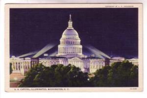 Nightview, US Capital Illuminated, Washington DC,