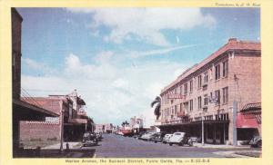 Marion Avenue , Business District , PUNTA GORDA , Florida , 1940s