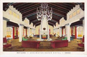 West Lounge Edgewater Beach Hotel Chicago Illinois